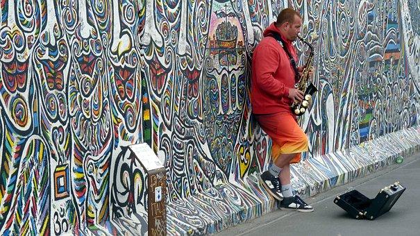 Street Musicians, Musician, Jazz, Street Music, Berlin