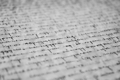 Manuscript, Writing, Paper, Old, Letter, Ink