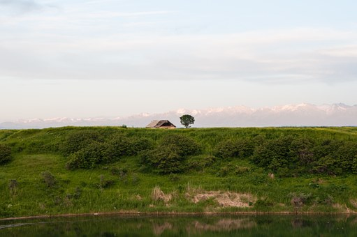 Landscape, Fields, Meadows, Evening Sky, Vacation