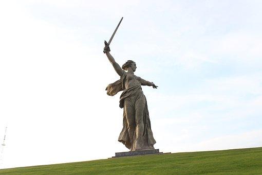 Monument, Volgograd, Mother Motherland