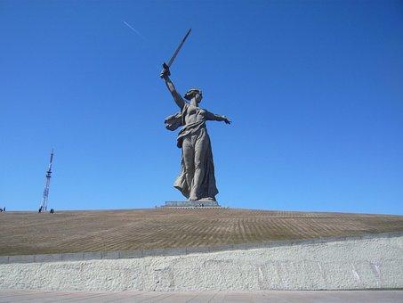 Stalingrad, Volgograd, Russia, Monument, Historically