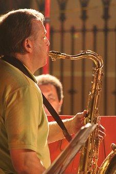 Saxophone, Music, Musician, Bandsman, Instrument, Jazz