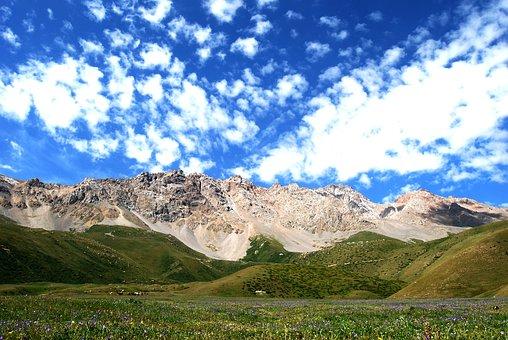 Mountains, Naryn, Kyrgyzstan