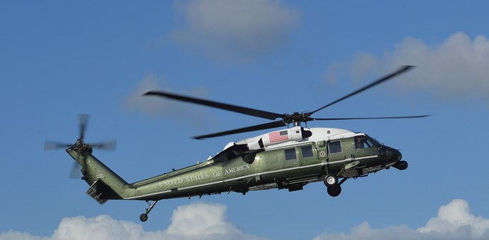 Obama, Helicopter, President, Amsterdam