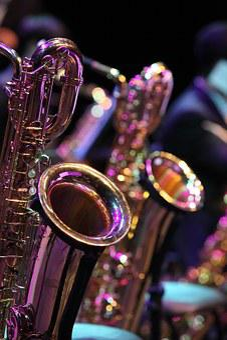 Saxophone, Played, Instrument, Music