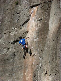Escalation, Climber, Rock Wall, Siurana, Scalar