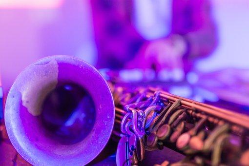 Music, Jazz, Saxo, Saxophone, Pop, Style, Retro