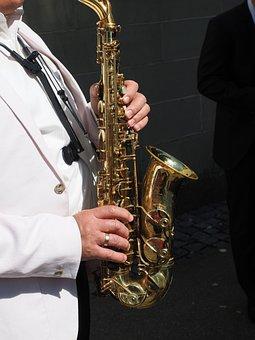 Saxophonist, Saxophone Player, Musician, Music