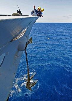 Ship, Navy, Military, Sea, Ocean, Water, Nature