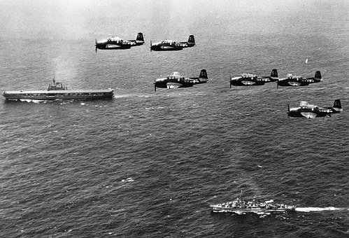 Second, War, Planes, Ship, Mar, Mediterranean