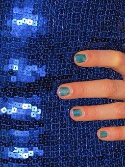 Sequin Dress, Sequins, Dress, Blue, Sparkle, Clothing