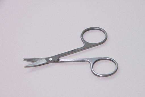 Metal, Nail, Scissor, Sharp, Stainless, Steel, Toenail
