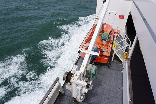 Lifeboat, Ship, Boot, Distress, Rescue, Shipping