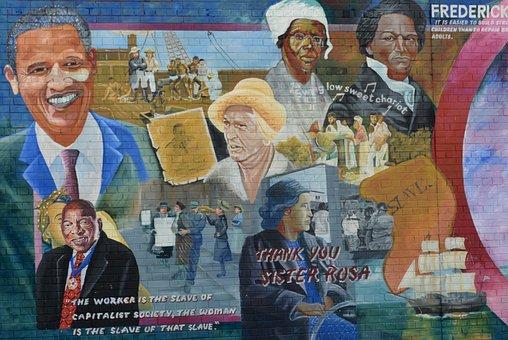 Mural, Belfast, Conflict, Barack Obama, Sister Rosa
