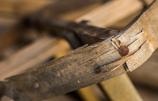 Wood, Nail, Splinter, Atmosphere, Architecture