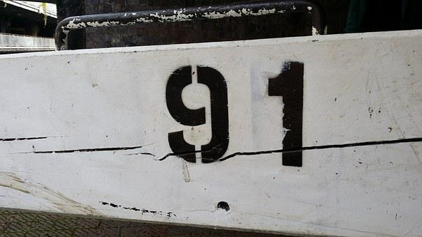 Number, Ninety-one, Wood, Wall, Sign, Symbol, White, 91