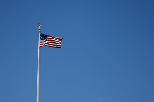 Flag, Usa, Nationality, White, House, President, United