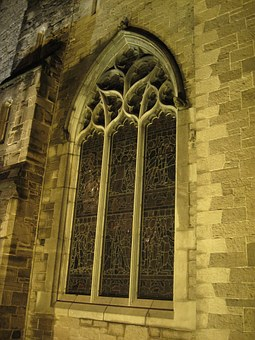 Gothic Church, St Patrick's Cathedral, Ireland, Window