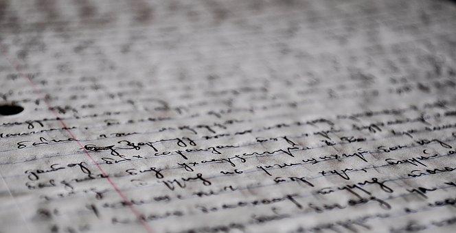 Manuscript, Handwriting, Old, Pen, Write, Paper, Ink