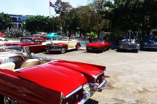 Carros, Clasicos, Antiguo, Habana, Histórico, Autos