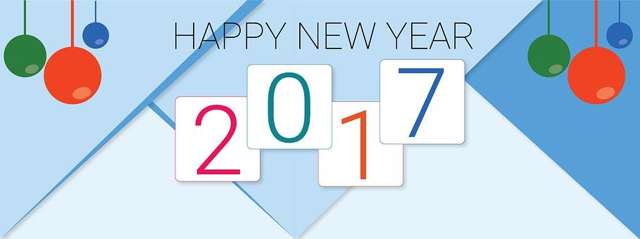 Happy New Year, 2017 New Year