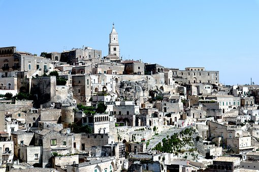 Buildings, Houses, Tower, Construction, Hill, Italy