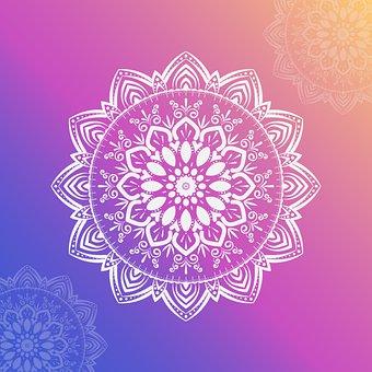Mandala, Decorative, Floral, Ornamental, Geometric