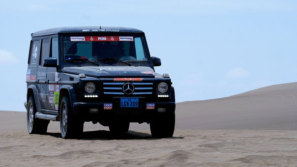 Mercedes, All Terrain Vehicle, Peru, Desert, 4x4, Dunes