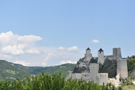 Fortress, Castle, Tower, Building, Medieval, Serbia