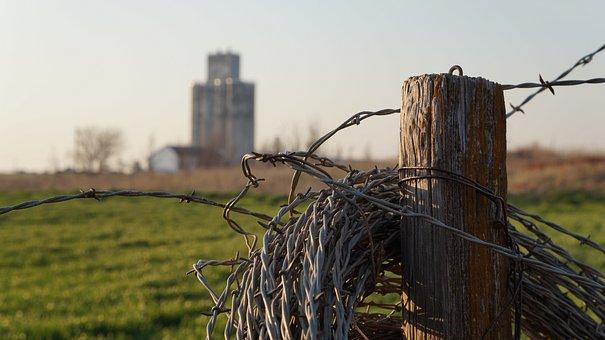Farm, Abandoned, Vintage, Landscape