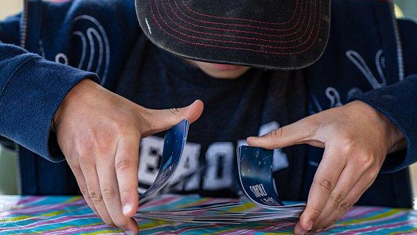 Cards, Game, Shuffle, Deal, Hand, Gamble, Poker, Kid