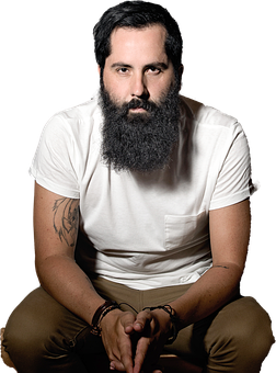 Man, Beard, Model, Hipster, Guy, Isolated, Male