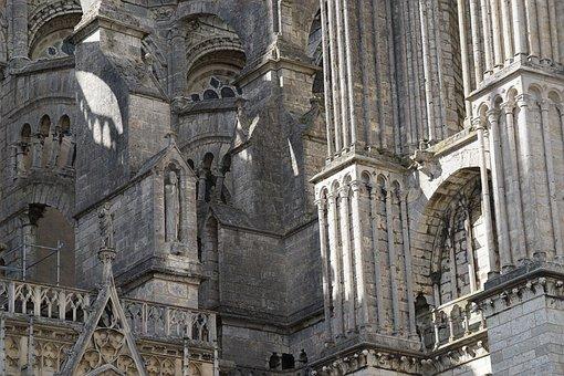 Building, Church, Monastery, Religion