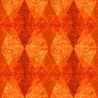Rhombus, Mosaic, Dots, Geometric, Shapes, Diamond