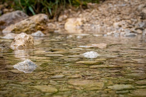 Water, Bach, River, Stones, Clear, Clean, Nature