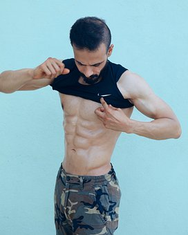 Man, Fitness, Muscular, Muscles, Bodybuilder, Health