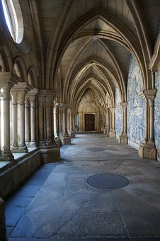 Cathedral, Corridor, Catholic, Architecture, Religion