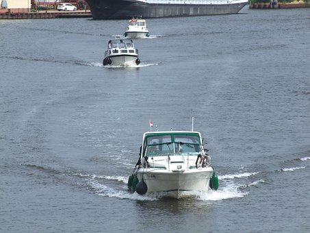 Speed Boat, Water, Channel, Transport, Ship, Hobby