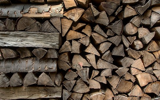Wood, Stock, Stack, Firewood, Storage, Stacked Up, Heat