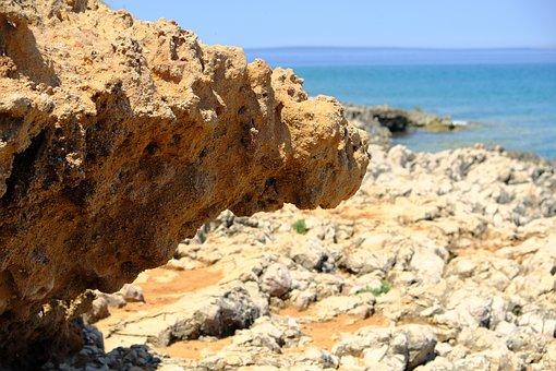 Beach, Coast, Sea, Rocks, Island, Vacations, Landscape