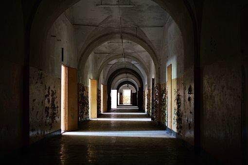 Corridor, Monument, Crash, Door, Rooms