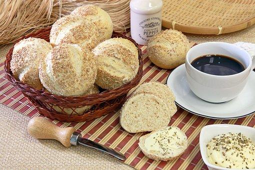 Bread, Coffee, The Bakery, Flour, Wheat
