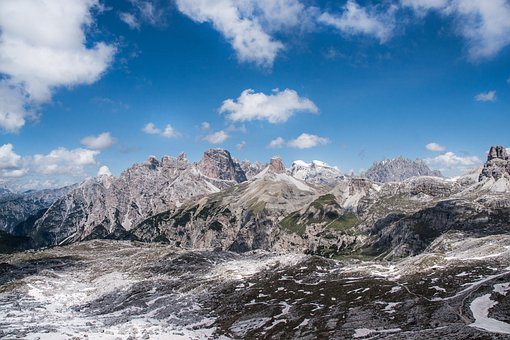 Mountains, Alpine, Dolomites, Panorama, Alpine Panorama