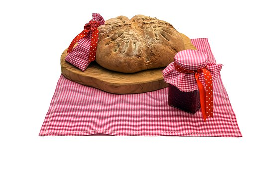 Bread, Salt, Eat, Nutrition, Food, Fresh, Welcome, Jam