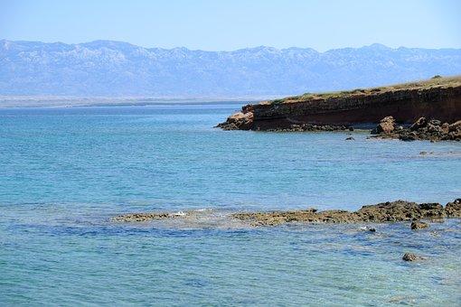 Coast, Sea, Rocks, Beach, Island, Vacations, Landscape