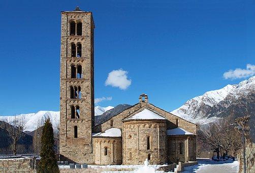 Church, Romanesque, Architecture, Religion, Adid