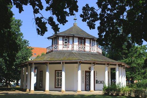 Pavilion, Doberan, Architecture, Kamp, Culture