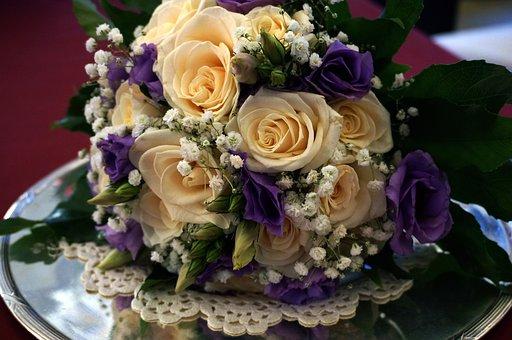 Flowers, Flower Bouquet, Roses, Floral Arrangement