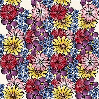 Flowers, Petals, Plant, Pattern, Nature, Garden, Sample