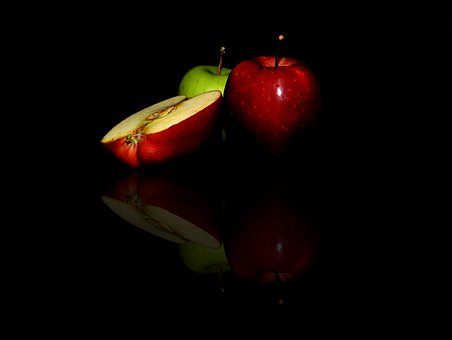 Apple, Fruit, Slice, Fresh, Food, Healthy, Juicy